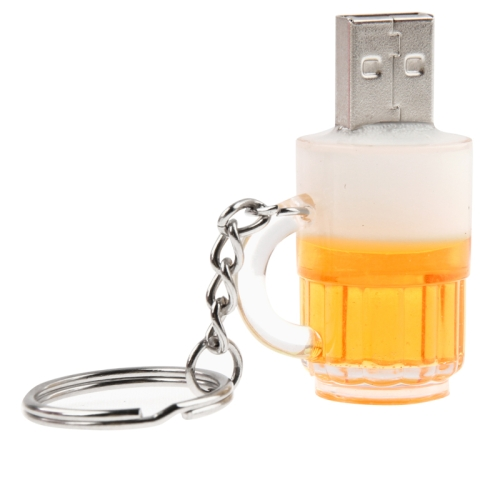 Buy Beer Keychain Style USB Flash Disk with 32GB Memory for $14.62 in SUNSKY store
