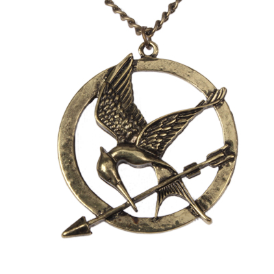 Buy The Hunger Games Mockingjay Sweater Necklace, Copper for $1.35 in SUNSKY store
