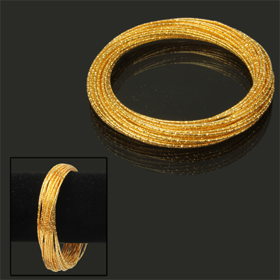 Buy 30-circle Design Cuff Bangle Bracelet Wrist Decoration Jewelry for $2.45 in SUNSKY store