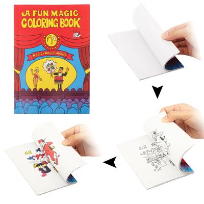 SUNSKY - Party Magic Trick Joke Toy / Magic Coloring Book