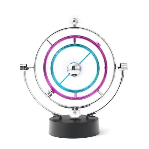 Magnetic Balance Kinetic Orbital Desk Decoration(Silver)