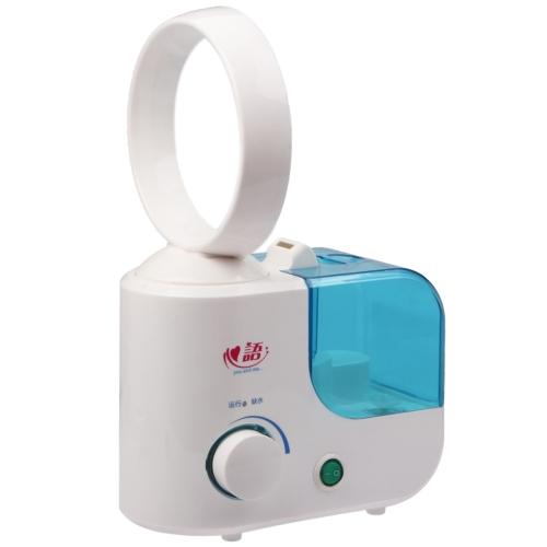 Buy Bladeless Fan Ultrasonic Air Humidifier Mist Maker Humidifier, Blue for $20.08 in SUNSKY store