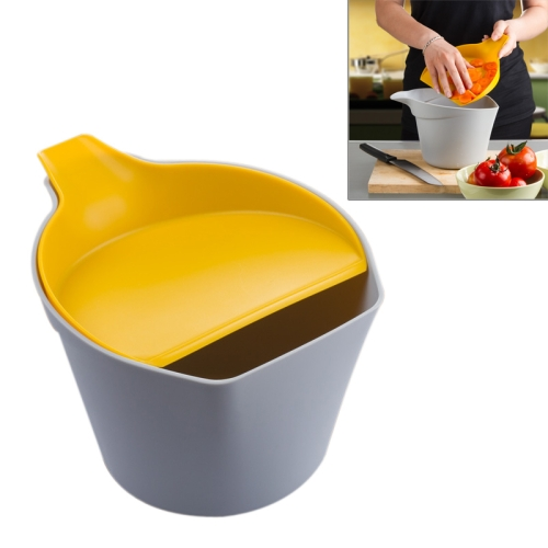 Buy Multifunction Storage Barrel PP Fruit & Vegetable Organizer Sundries Bucket (Random Color Delivery) for $4.76 in SUNSKY store