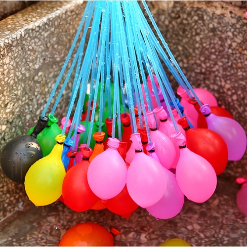 3 PCS Children Water Game Toys Magic Balloons Bunch, Random Color Delivery