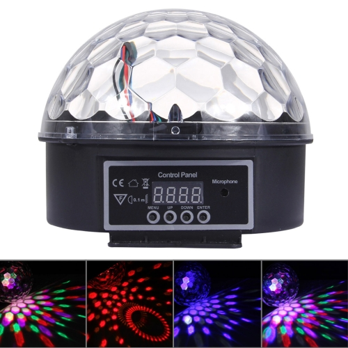 Buy Digital LED RGB Crystal Magic Ball Stage Effect Light DMX Party Disco DJ Bar Colorful Pattern Lighting for $9.41 in SUNSKY store