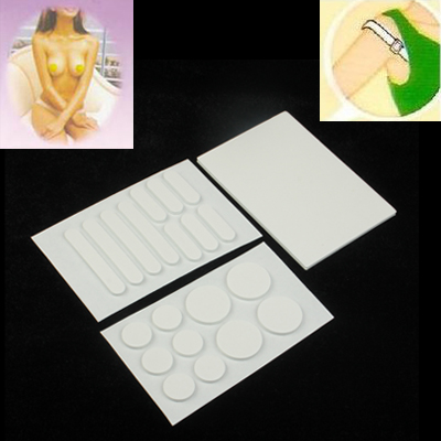 Buy Silicone Invisible Bra White Nipple Cover Shoulder Baldric Pad, White for $1.35 in SUNSKY store