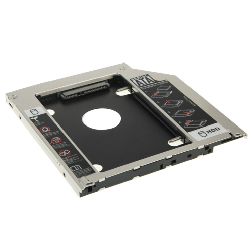 2.5 inch Second HDD Hard Drive Caddy SATA to SATA for Apple MacBook Pro, Thickness: 9.5mm