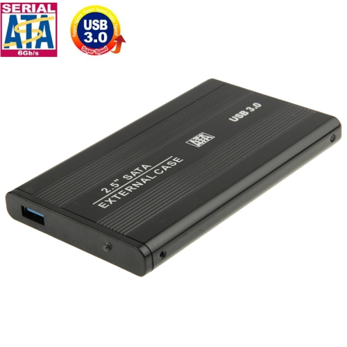 High Speed 2.5 inch HDD SATA External Case, Support USB 3.0(Black)