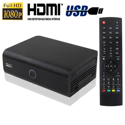 Buy 1080P Full HD Media Player with RJ45 + HDMI + e-SATA Interface, Support Inner 2.5 inch SATA HDD, Support High-definition 3D Video Format Hard Disk Player, Black for $82.26 in SUNSKY store