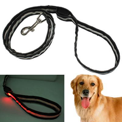 Buy Portable LED Light Flexible Leash String Strap Rope Lead for Dog for $4.09 in SUNSKY store