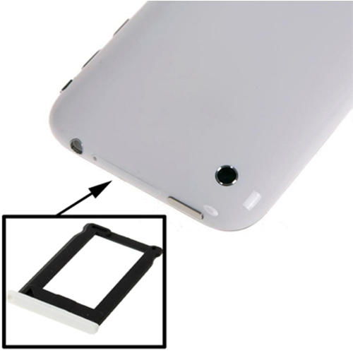 Sim Card Tray Holder for iPhone 3G, iPhone 3GS , OEM version(White)