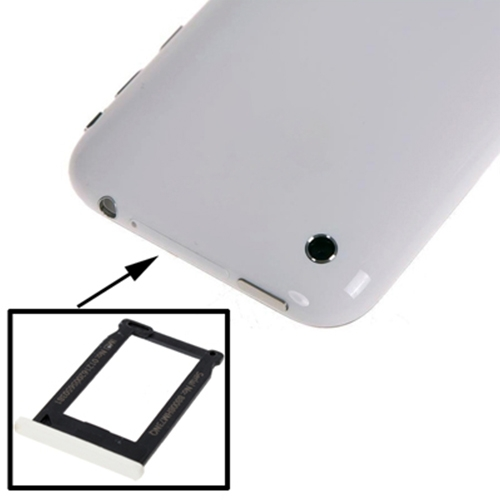 Original SIM Card Tray Holder for iPhone 3G / iPhone 3GS(White)