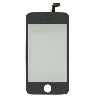 OEM version, Black color, 2 in 1 (Replacement Touch Panel + LCD Frame) for iPhone 4(Black)