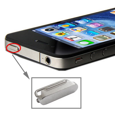 Lock Button Power Key Switch ON / OFF for iPhone 4/4S