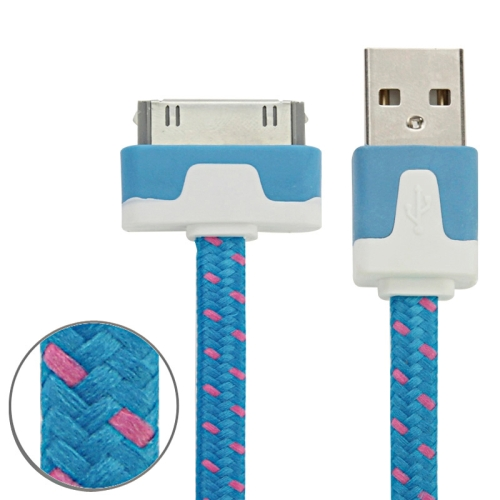 Buy 2m Woven Style 30 Pin to USB Data / Charging Cable for $1.01 in SUNSKY store