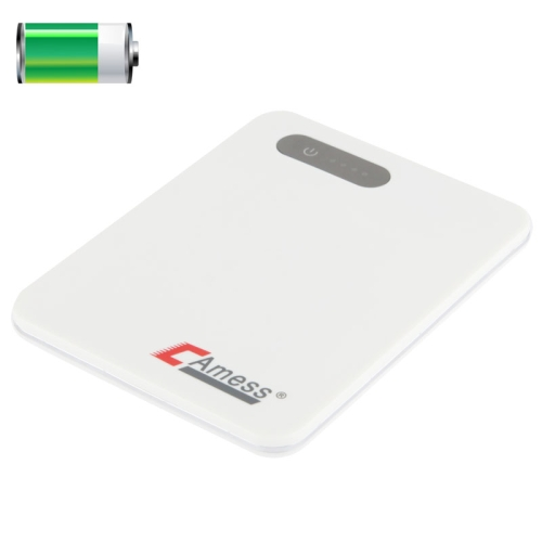 Buy 3800mAh Mobile Power Bank External Battery for iPhone 4 & 4S / Samsung / i9500 / i9300 / Other Mobile Phone, CB-380, White for $11.43 in SUNSKY store
