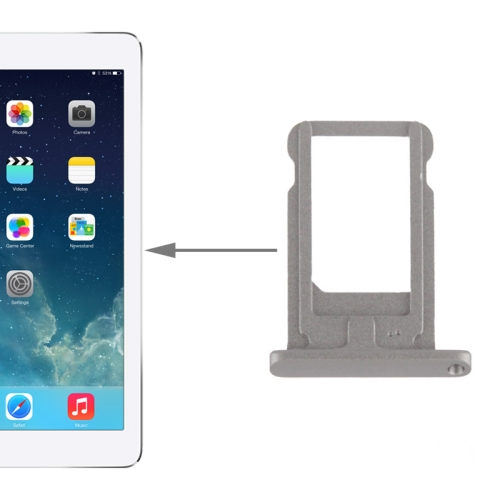 Original SIM Card Tray Holder for iPad Air (Grey)