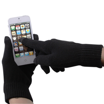 Buy Dot Gloves of Touch Screen for iPhone 5,iPhone 4 & 4S / iPad / iPod touch,Samsung,Sony Ericsson,HTC and other Touch Screen Mobile Phones, Black for $1.52 in SUNSKY store