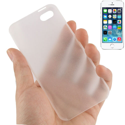 0.3mm Ultra Thin Polycarbonate Materials PC Protection Shell for iPhone 5 & 5s & SE (Transparent)