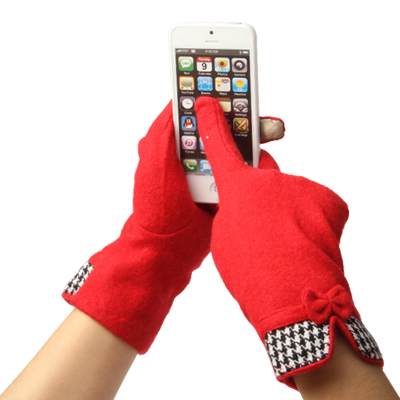 Cashmere Gloves of Touch Screen