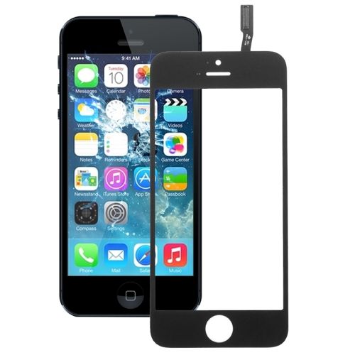 Touch Panel Flex Cable for iPhone 5C & 5S(Black)