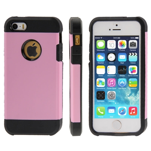 Buy Tough Armor Plastic + TPU Combination Case for iPhone 5 & 5S, Pink for $1.13 in SUNSKY store