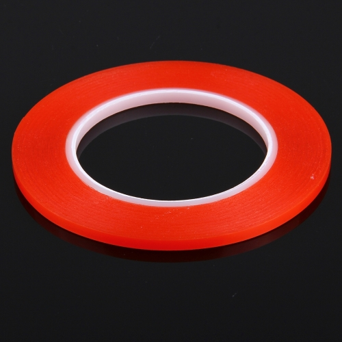 5mm width 3M Double Sided Adhesive Sticker Tape for iPhone / Samsung / HTC Mobile Phone Touch Panel Repair, Length: 25m(Red) фото