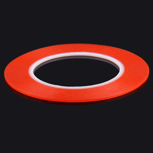 2mm width 3M Double Sided Adhesive Sticker Tape for iPhone / Samsung / HTC Mobile Phone Touch Panel Repair, Length: 25m (Red)