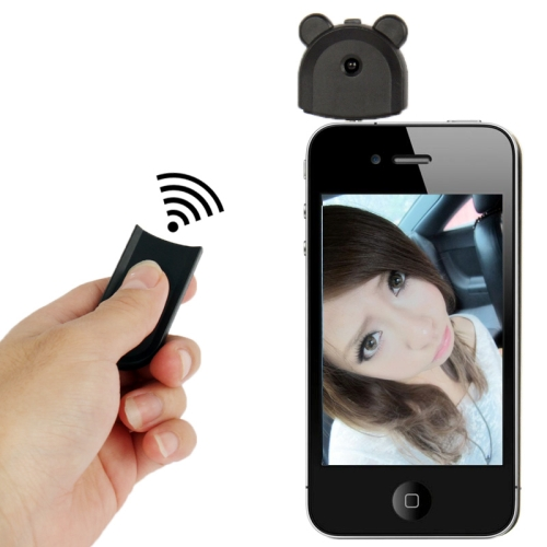 Buy Camera Remote Release Wireless Shutter Controller for iPhone 5, iPhone 4 & 4S, iPad mini 1 / 2 / 3 / New iPad (iPad 3) / iPad 2 / iPad, iPod touch 5 / 6 (Requires iOS 5.0 or later), Remote Control Distance: 7m, Black for $4.53 in SUNSKY store