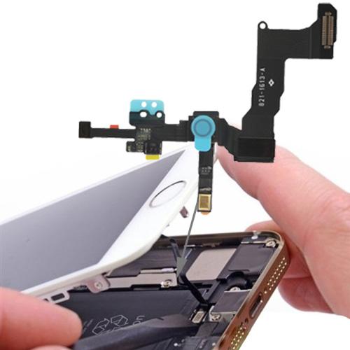 Original 2 in 1 Front Camera + Sensor Flex Cable for iPhone 5S