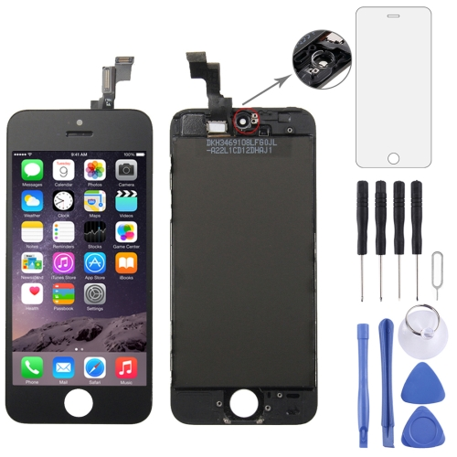 Digitizer Assembly (Original LCD + Frame + Touch Panel) for iPhone 5S(Black)