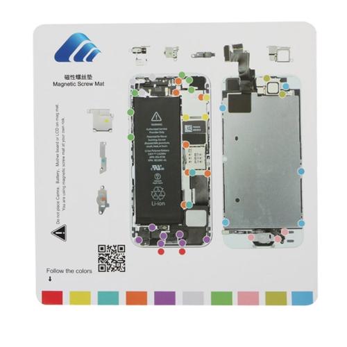 20cmx 20cm Magnetic Screws Mat for iPhone 5S