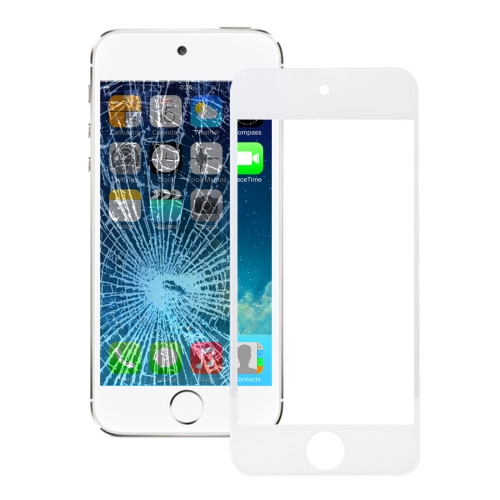 Buy iPartsBuy for iPod touch 5 Front Screen Outer Glass Lens, White for $3.98 in SUNSKY store