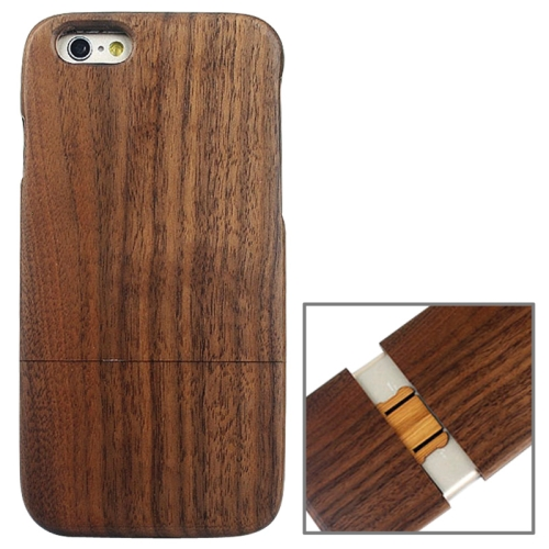 Buy Detachable Walnut Wood Material Protective Case for iPhone 6 & 6S for $5.60 in SUNSKY store