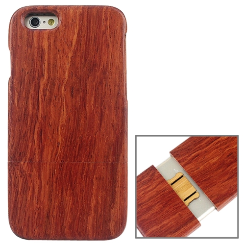 Buy Detachable Red Wood Material Protective Case for iPhone 6 & 6S for $5.60 in SUNSKY store