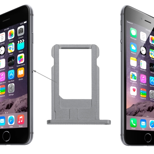 Card Tray Replacement for iPhone 6(Grey)