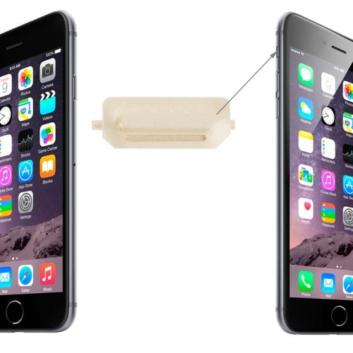 Original Mute Switch Vibrator Key for iPhone 6 & 6 Plus(Gold)