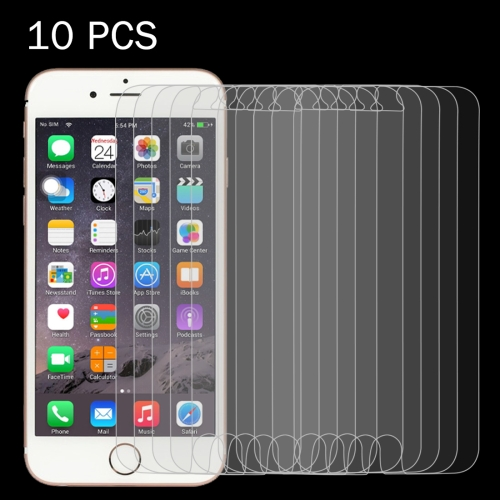 Buy 10 PCS for iPhone 6 & 6s 0.26mm 9H Surface Hardness 2.5D Explosion-proof Tempered Glass Screen Film for $3.70 in SUNSKY store