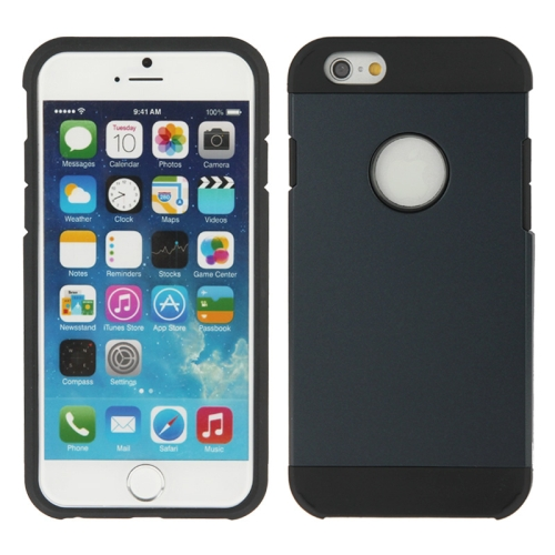 Buy Hybrid PC+TPU Tough Armor Color Hard Case Cover for iPhone 6, Atrovirens for $1.47 in SUNSKY store