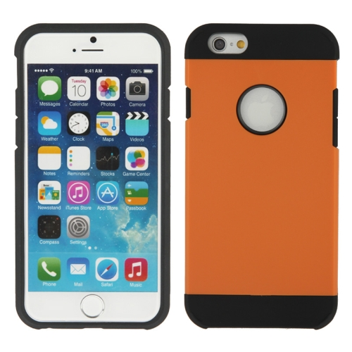 Buy Hybrid PC+TPU Tough Armor Color Hard Case Cover for iPhone 6, Orange for $1.47 in SUNSKY store