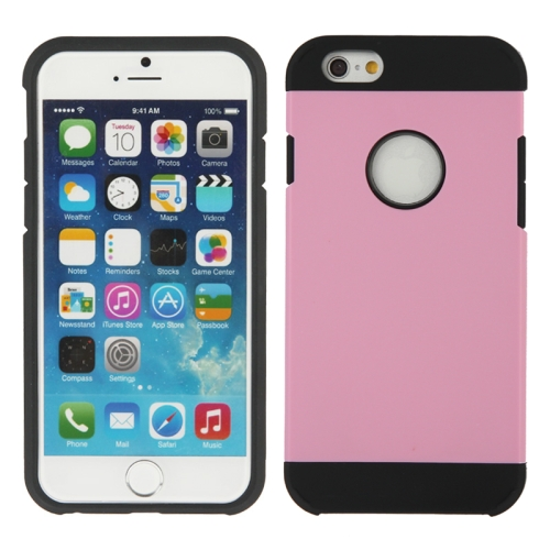 Buy Hybrid PC+TPU Tough Armor Color Hard Case Cover for iPhone 6, Pink for $1.47 in SUNSKY store