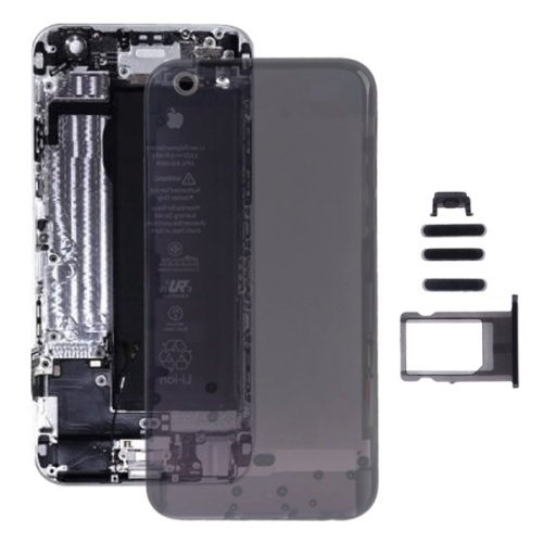 low priced b1ae4 58cbe SUNSKY - Full Assembly Transparent Plastic Housing Cover for iPhone ...