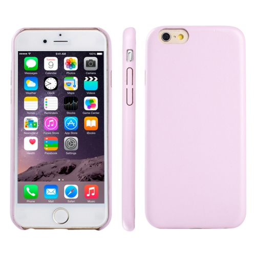Buy Ultra-thin Protective Leather Back Cover Case for iPhone 6 & 6S, Pink for $1.74 in SUNSKY store