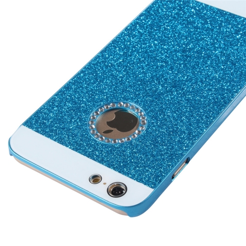 Buy UV Shimmering Powder Diamond-encrusted Protective Hard Case for iPhone 6 & 6S, Blue for $1.49 in SUNSKY store