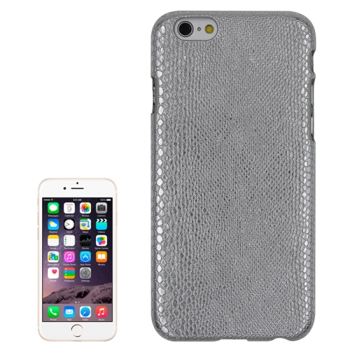 Buy Snakeskin Texture Paste Skin PC Protective Case for iPhone 6 & 6S, Silver for $1.42 in SUNSKY store