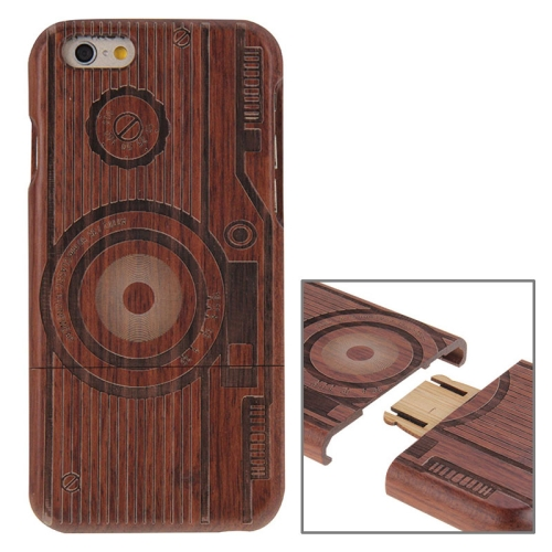 Buy MO Camera Pattern Separable Rosewood Wooden Case for iPhone 6 & 6s for $8.24 in SUNSKY store