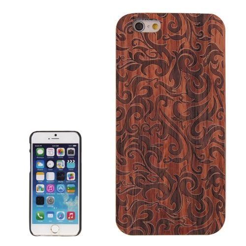 Buy Grass Pattern PC Frame Rosewood Wooden Case for iPhone 6 & 6s for $7.15 in SUNSKY store