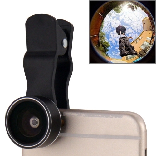 Buy 2 in 1 Universal LED Ring Flashlight Lens 0.65X Wide Lens + Marco Lens with Clip & 3 Filters for $3.45 in SUNSKY store
