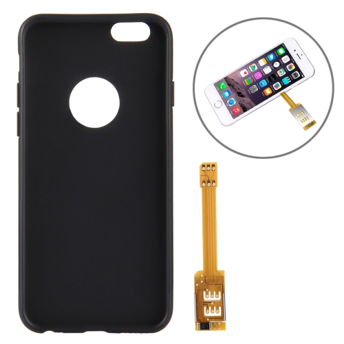 online retailer 36a8f 18366 SUNSKY - Kumishi for iPhone 6s Dual SIM Card Adapter with a Back ...