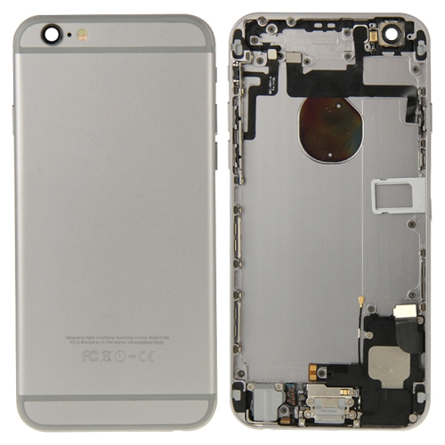 Full Housing Back Cover for iPhone 6 (Grey)
